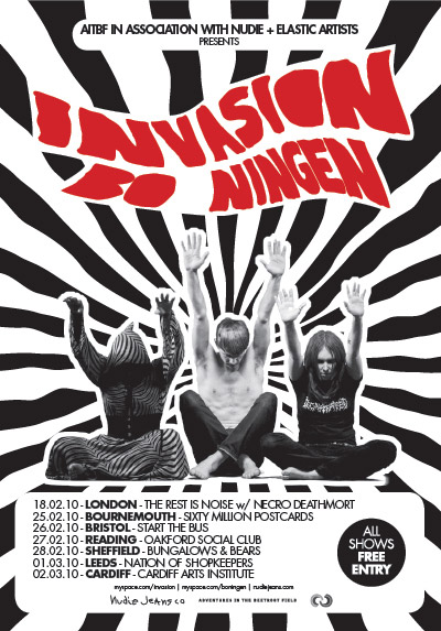 invasion/ bo ningen tour